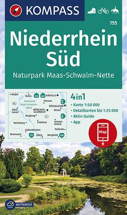 Niederrhein Süd, Naturpark Maas-Schwalm-Nette von KOMPASS-Karten GmbH