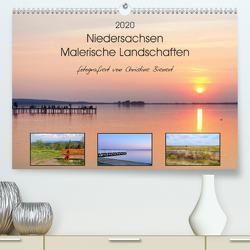 Niedersachsen – Malerische Landschaften (Premium, hochwertiger DIN A2 Wandkalender 2020, Kunstdruck in Hochglanz) von Bienert,  Christine
