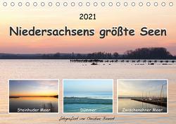 Niedersachsens größte Seen (Tischkalender 2021 DIN A5 quer) von Bienert,  Christine