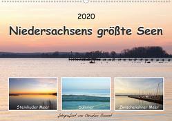 Niedersachsens größte Seen (Wandkalender 2020 DIN A2 quer) von Bienert,  Christine