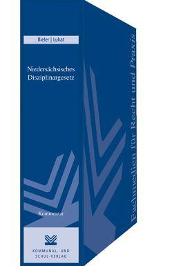 Niedersächsisches Disziplinargesetz von Bieler,  Frank, Lukat,  Otto
