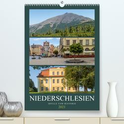 NIEDERSCHLESIEN Idylle und Historie (Premium, hochwertiger DIN A2 Wandkalender 2021, Kunstdruck in Hochglanz) von Viola,  Melanie