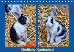 Niedliche Kaninchen (Tischkalender 2018 DIN A5 quer) von Kattobello,  k.A.
