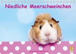 Niedliche Meerschweinchen (Tischkalender 2018 DIN A5 quer) von Hutfluss,  Jeanette