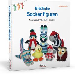 Niedliche Sockenfiguren von Brischnik,  Irene