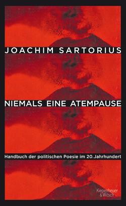 Niemals eine Atempause von Sartorius,  Joachim