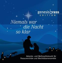 Niemals war die Nacht so klar – genesis brass Edition, Audio CD von Genesis Brass, Sprenger,  Christian