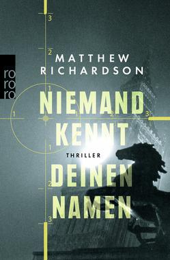 Niemand kennt deinen Namen von Richardson,  Matthew, Thiesmeyer,  Ulrike