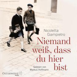 Niemand weiß, dass du hier bist von Giampietro,  Nicoletta, Hoffmann,  Markus