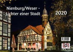 Nienburg-Lichter einer Stadt von Wösten,  Heinz