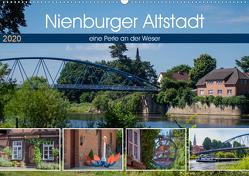 Nienburger Altstadt, eine Perle an der Weser (Wandkalender 2020 DIN A2 quer) von Riedel,  Tanja
