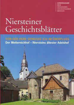 Niersteiner Geschichtsblätter von Bräckelmann,  Dr. Susanne