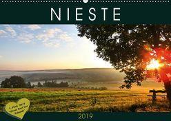 Nieste (Wandkalender 2019 DIN A2 quer) von Löwer,  Sabine