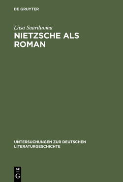 Nietzsche als Roman von Saariluoma,  Liisa