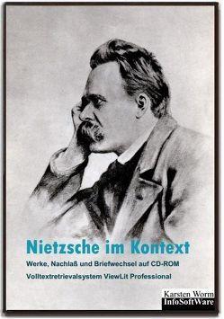 Nietzsche im Kontext – Werke, Nachlaß und Briefwechsel auf CD-ROM von Nietzsche,  Friedrich, Prossliner,  Johann