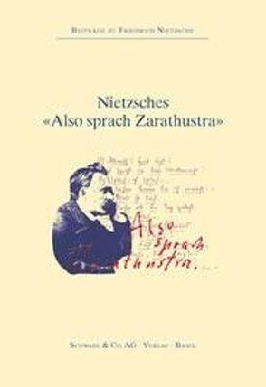 """Nietzsches """"Also sprach Zarathustra"""" von Villwock,  Peter"""