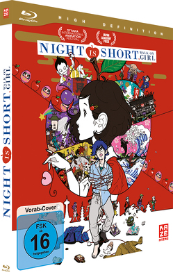 Night Is Short, Walk On Girl – Blu-ray von Yuasa,  Masaaki