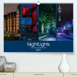 NightLights (Premium, hochwertiger DIN A2 Wandkalender 2021, Kunstdruck in Hochglanz) von Muß,  Jürgen