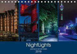 NightLights (Tischkalender 2019 DIN A5 quer) von Muß,  Jürgen