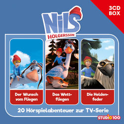 Nils Holgersson (CGI) / Nils Holgersson (CGI) – 3CD Hörspielbox von Blendin,  Sarah, Herrenbrück,  Anja, Janssens,  Olaf