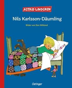 Nils Karlsson-Däumling von Lindgren,  Astrid, Peters,  Karl Kurt, Wikland,  Ilon