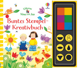 Nina und Jan – Buntes Stempel-Kreativbuch von Cartwright,  Stephen, Taplin,  Sam