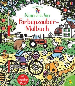Nina und Jan – Farbenzauber-Malbuch von Addison,  Jenny, Cartwright,  Stephen