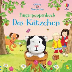 Nina und Jan – Fingerpuppenbuch: Das Kätzchen von Taplin,  Sam, Taylor-Kielty,  Simon