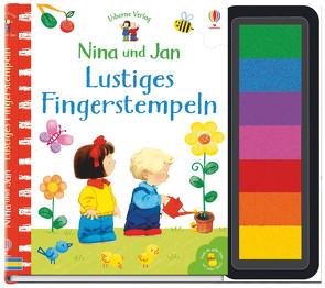 Nina und Jan – Lustiges Fingerstempeln von Cartwright,  Stephen, Taplin,  Sam