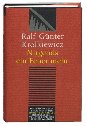 Nirgends ein Feuer mehr von Geipel,  Ines, Krolkiewicz,  Ralf G, Walther,  Joachim