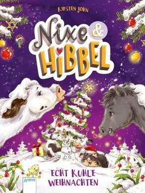 Nixe & Hibbel (2). Echt kuhle Weihnachten von John,  Kirsten, Reitz,  Nadine