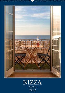 Nizza – Cote d'Azur 2019 (Wandkalender 2019 DIN A2 hoch) von Rost,  Sebastian