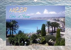 Nizza, Côte d'Azur (Wandkalender 2019 DIN A3 quer) von Lavende,  Elinor