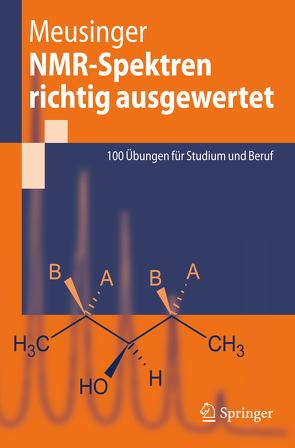 NMR-Spektren richtig ausgewertet von Meusinger,  Reinhard