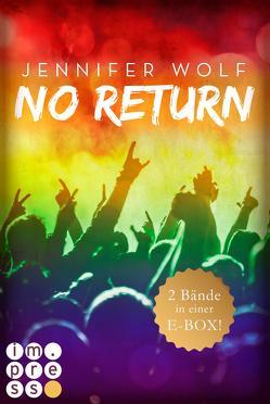 No Return: Die ersten beiden Bände der Bandboys-Romance-Reihe in einer E-Box! von Wolf,  Jennifer
