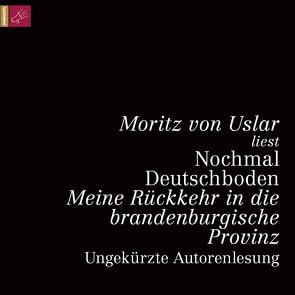 Nochmal Deutschboden von Uslar,  Moritz von von