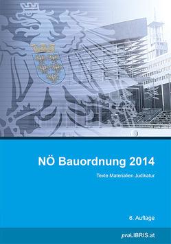 NÖ Bauordnung 2014 von proLIBRIS VerlagsgesmbH