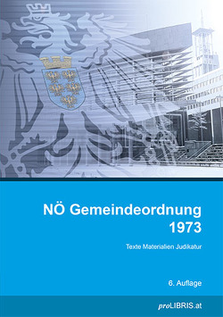 NÖ Gemeindeordnung 1973 von proLIBRIS VerlagsgesmbH