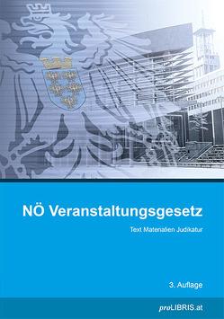 NÖ Veranstaltungsgesetz von proLIBRIS VerlagsgesmbH