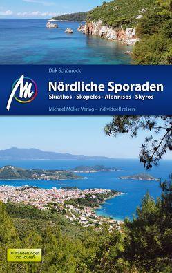 Nördliche Sporaden Reiseführer Michael Müller Verlag von Schönrock,  Dirk