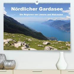 Nördlicher Gardasee – Die Regionen um Limone und Malcesine (Premium, hochwertiger DIN A2 Wandkalender 2020, Kunstdruck in Hochglanz) von Albilt,  Rabea
