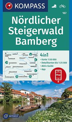 Nördlicher Steigerwald, Bamberg von KOMPASS-Karten GmbH