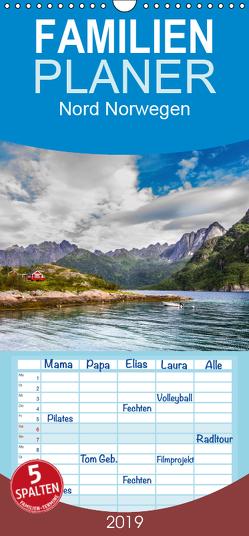 Nördliches Norwegen – Familienplaner hoch (Wandkalender 2019 , 21 cm x 45 cm, hoch) von Philipp,  Daniel