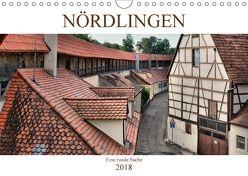 Nördlingen – Eine runde Sache (Wandkalender 2018 DIN A4 quer) von Bartruff,  Thomas