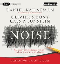 Noise von Holdorf,  Jürgen, Kahneman,  Daniel, Schmidt,  Thorsten, Sibony,  Olivier, Sunstein,  Cass R.