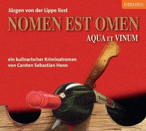 Nomen est omen von Henn,  Carsten S, Lippe,  Jürgen von der