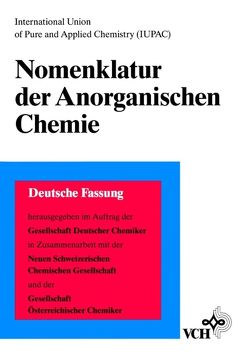 Nomenklatur der Anorganischen Chemie von Liebscher,  Wolfgang
