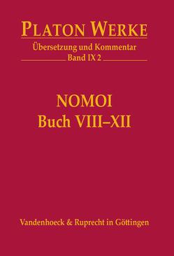Nomoi (Gesetze), Buch VIII-XII von Platon, Schöpsdau,  Klaus