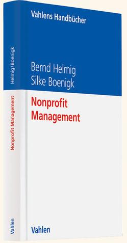 Nonprofit Management von Boenigk,  Silke, Helmig,  Bernd