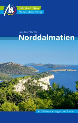 Norddalmatien Reiseführer Michael Müller Verlag von Marr-Bieger,  Lore